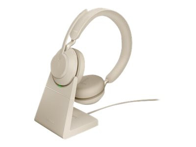 Evolve2 65 MS Stereo Beige inkl. Stand & Link380a
